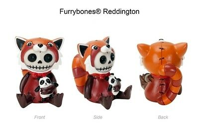 Furrybones Figurine - Reddington The Fox Skull Skeleton In Costume - 1St On Ebay