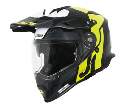 a8e90083 Casco Motocross Just1 J34 PRO TOUR FLUO YELLOW BLACK MATT Enduro Quad