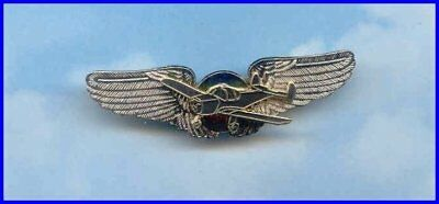 Ercoupe Antique Aircraft Airplane Plane Wings 99's Aviator Pin