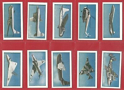 Cigarette / Trade Cards - Beano Bubble Gum - This Age Of Speed Aeroplanes (1954)