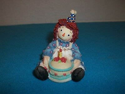 """Raggedy Ann """"Each Day Is Filled With Love And Sunshine"""" Figurine"""