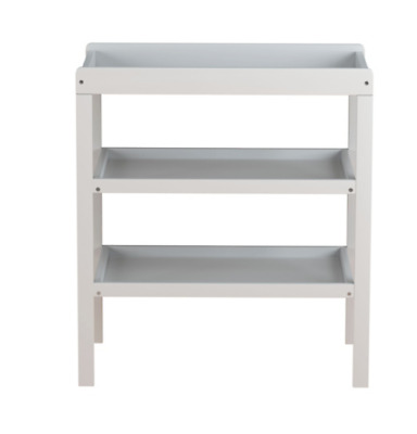 Rafferty Open Changing Table Dresser Station Baby Changing Unit White
