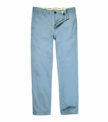 Fatface Mens Roman Grey Blue Modern Coastal Chinos Pants [921841] Size 32R