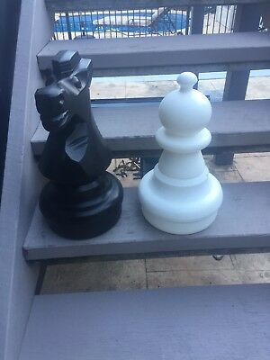 Chess Set 60cm Plastic