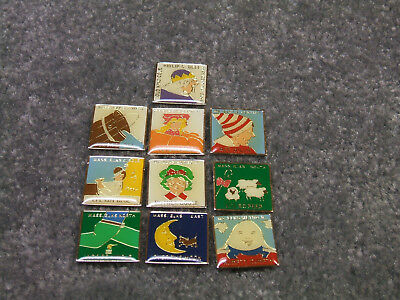 Mass Elks  Whimsical Mother Goose  Collectable Pin Set Bpoe