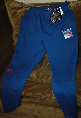 c353fc22739 New York Rangers sweatpants Adidas Men s Large NEW with TAGS! NHL 2018  winter
