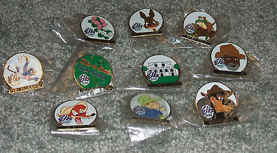 RARE DISNEY  SONG of the SOUTH  ELKS COLLECTABLE PIN SET BPOE