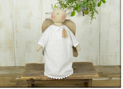 """NEW!!! Primitive Country Vintage Honey & Me  """" GRACE """" Standing Angel Doll"""