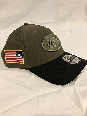 official photos c9cb6 505b9 ... 2017 sts knit hat a0321 ca699  norway nfl new york jets salute to service  cap hat new era 39thirty medium large 92da9