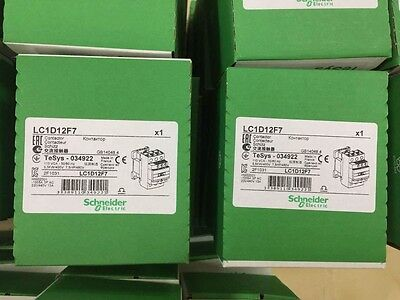 Schneider Electric LC1D12F7 Contactor 110V coil NEW SEALED BOX  MADE IN FRANCE