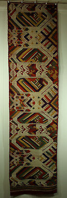 ANTIQUE SOUTHEAST ASIAN TEXTILE Pha biang (shawl), woven by T'ai Nuea 53x13.5