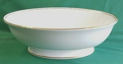 """Lenox China  """"FEDERAL GOLD""""   OVAL VEGETABLE BOWL  Classics Collection from 2005"""