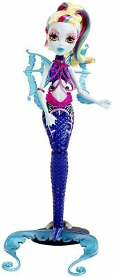 Monster High Great Scarrier Reef Glowsome Ghoulfish Lagoona Blue Doll  …