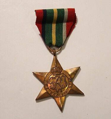 WWII UK British Pacific Star medal