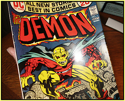 Demon #1 (1972) 1St Appearance Demon Jack Kirby Justice League Dark Dc 8.0 Vf
