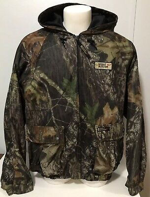 ad8fe49fdabb7 Scent Blocker Plus Frontier Hooded Camo Jacket New Breakup ScenTek Men's L  42-44