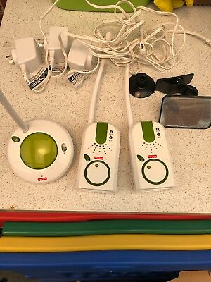 Used Fisher-price Audio ONLY Baby Monitor