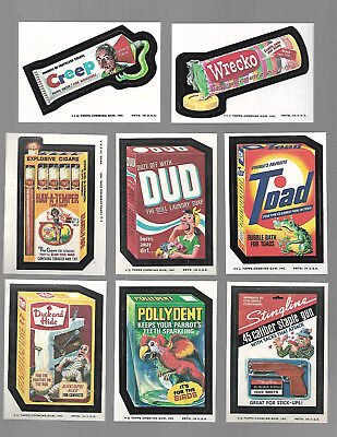 1975 Topps Wacky Packages Original 12th Series 12 Complete