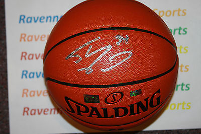 Shaquille Shaq O Neal signed Spalding Game Ball Series Basketball Mounted  Holo b0d52dd96