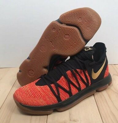 8b9599fc2dfd Nike Zoom KD 10 NFS Basketball Shoes Mens Size 13 Kevin Durant University  Red