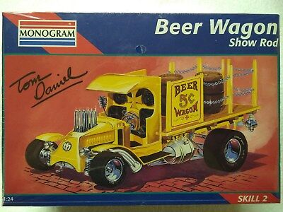 Monogram Beer Wagon Show Rod Model 1:24 #2453 - New Sealed!