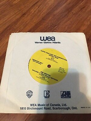 The Smiths - WEA Promo Copy with William It Was Really Nothing and Lloyd Cole, M