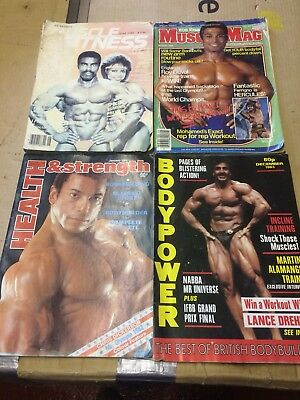 Vintage 1983  Health & Strength Body Building Magazines X4