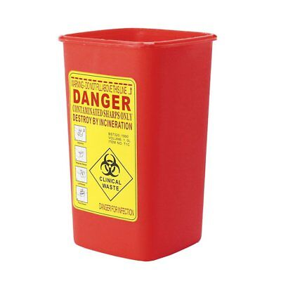 Medline 1 Quart Sharps Container Biohazard Needle Disposal Tattoo - SHIPS SO