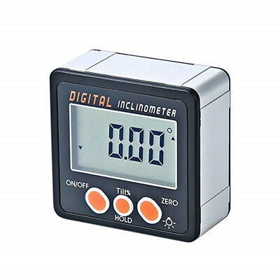 Digital Inclinometer Electronic Protractor Bevel Box Angle Gauge Measuring Tool