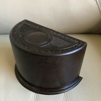 1920s Cigarette Box Bakelite Lingden Ware English Rotating Vintage Stationary
