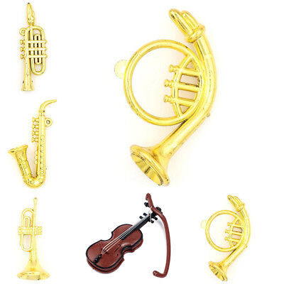 Miniature Music Instrument Model For 1:12 Doll House Room Decor Kit Accessory