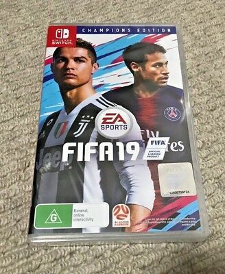 Fifa 19 Champions Edition Nintendo Switch Brand New Sealed AU Release