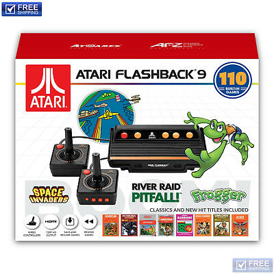 Classic HD Game Console Atari Flashback 9 with HDMI and 110 Built-in Games
