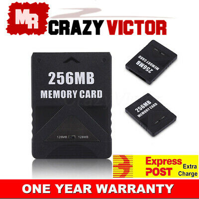 NEW 64MB 128MB 256MB Memory Card for Playstation 2 PS2