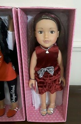 """Design a Friend ~ 18"""" Doll ~ #6 ~ like our generation/american girl/journey girl"""