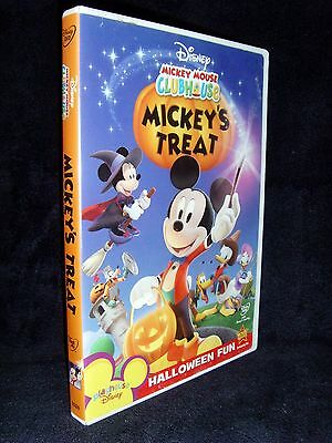 Disney Mickey Mouse Clubhouse Mickeys Treat Dvd 2007 Mint Disc E2 80 A2no