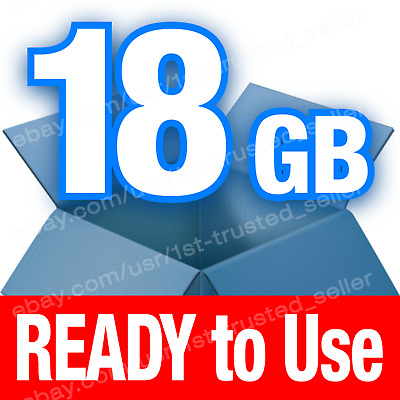 Dropbox Cloud Storage 18 GB **BRAND NEW** account - PERMANENT and Lifetime!