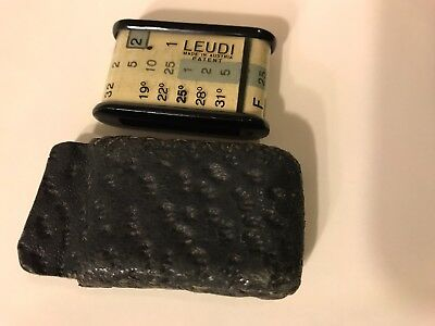 Leudi Extension Meter With Leather Case