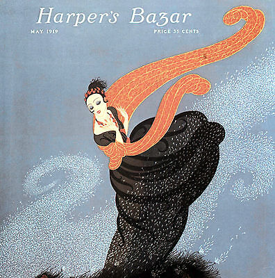 ERTÉ:DESSINS HARPER'S BAZAR Mode Fashion Costumes[Vogue