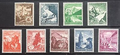 Germany Third Reich 1938 Winter Charity: Landscapes & Alpine Flowers MLH