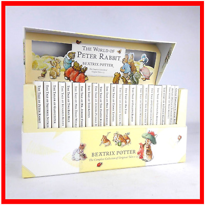 The World Of Peter Rabbit Beatrix Potter Complete Collection Books Set 1-23 VGC
