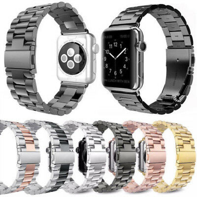 Stainless Band Bracelet Watch Strap For Apple Watch iWatch 1/2/3/4 38/40/42/44mm