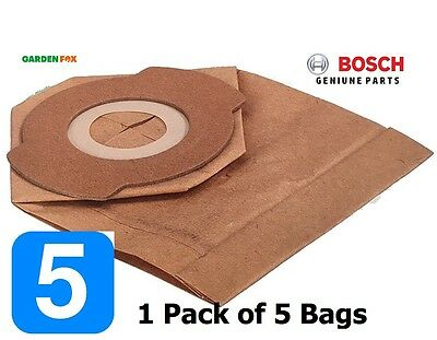 savers Bosch EasyVAC3 Pack of 5 PAPER DUST BAGS 2609256F34 3165140912358 D