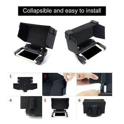 Remote Controller Monitor Sunshade Hood Sun Cover 5.5 Inch for DJI Mavic Drone S