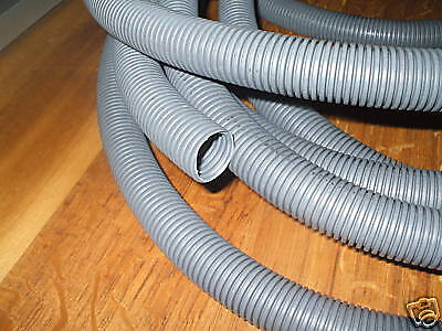 CARAVAN WASTE WATER HOSE 28.5MM CONVOLUTED GREY HOSE 10m