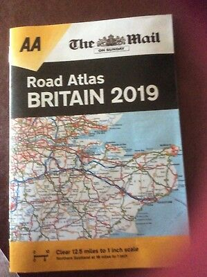 The Mail On Sunday Road Atlas Britain 2019, Handy Size