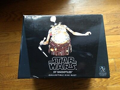 Star Wars Gentle Giant 2013 Sy Snootles Collectible Mini Bust ~ #351/850