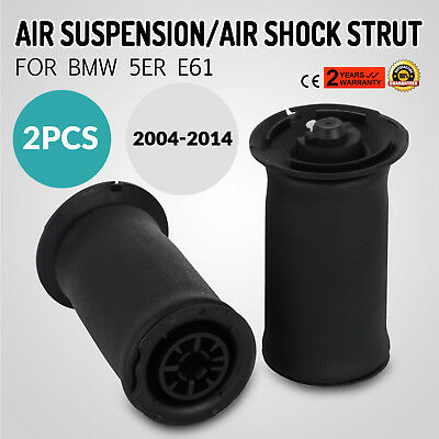 1 Pair For BMW 5-Series E61 Rear Air Ride Suspension Air Spring Bag Assembly