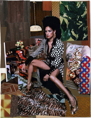 Mickalene Thomas 'Racquel Come To Me Two' Ed. 50, Signed & Numbered, Mint