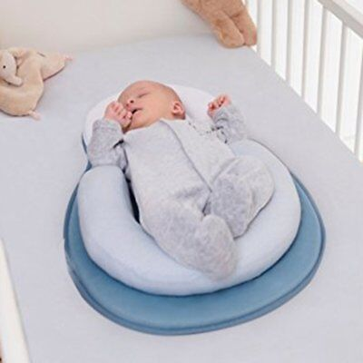 Baby Anti-rollover Mattress Pillow Toddler Sleep Positioning Pad Cotton Pillow R